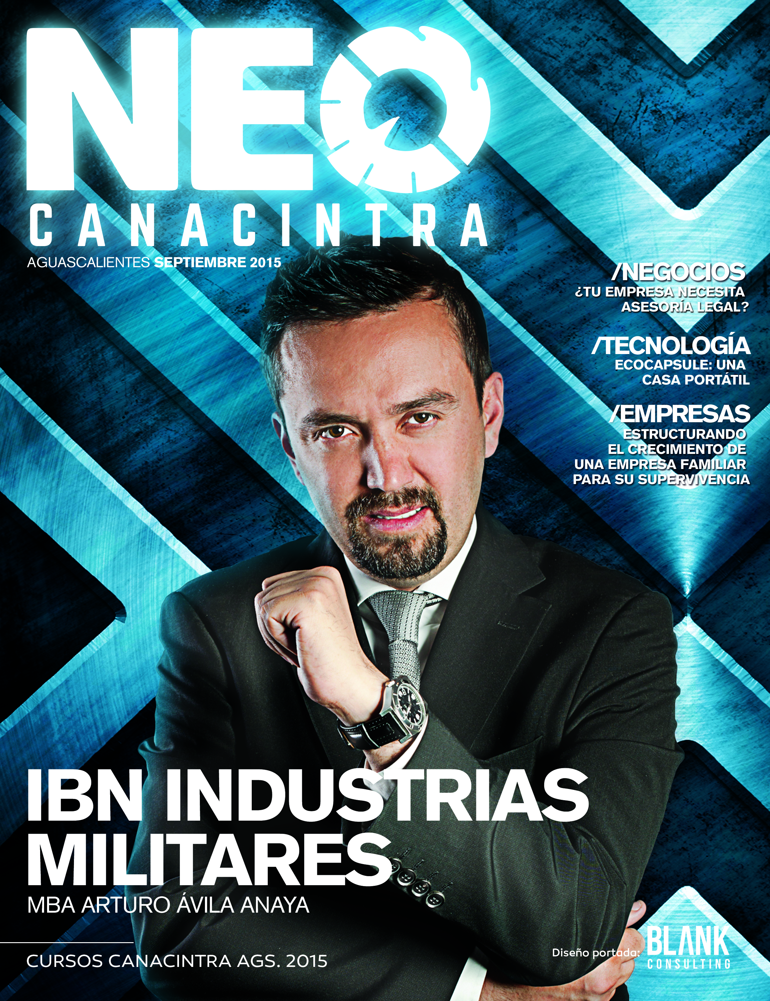 MBA ARTURO ÁVILA ANAYA  REVISTA NEO CANACINTRA 4 DE AGOSTO 2015